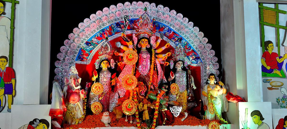 Durga Puja Photographs 2012: Bangalore