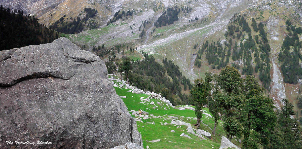 How not to trek to Indrahar Pass