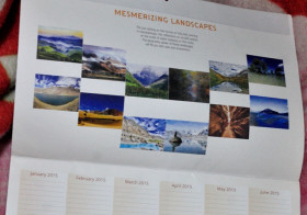 Published: WWF Mesmerizing Landscapes Calender