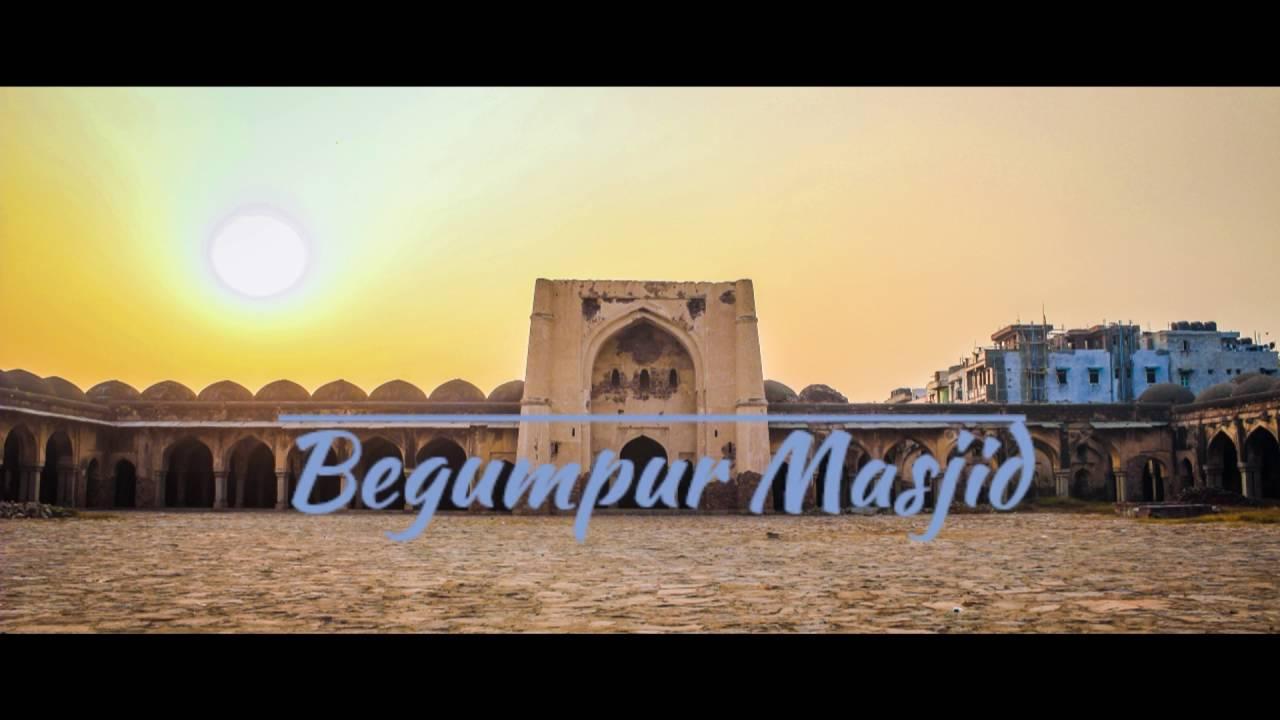 Video: Around Vijay Mandal and Begumpur Masjid