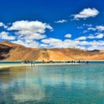 Camping at Pangong Lake, Ladakh