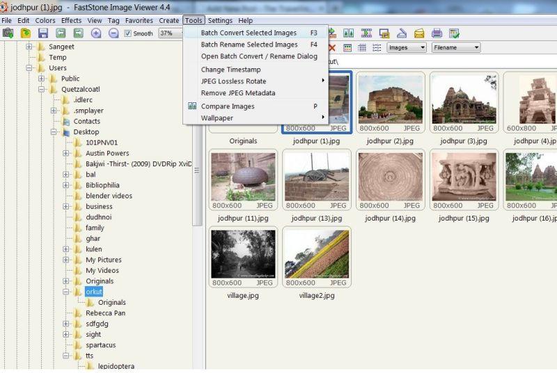 Batch Image Watermarking