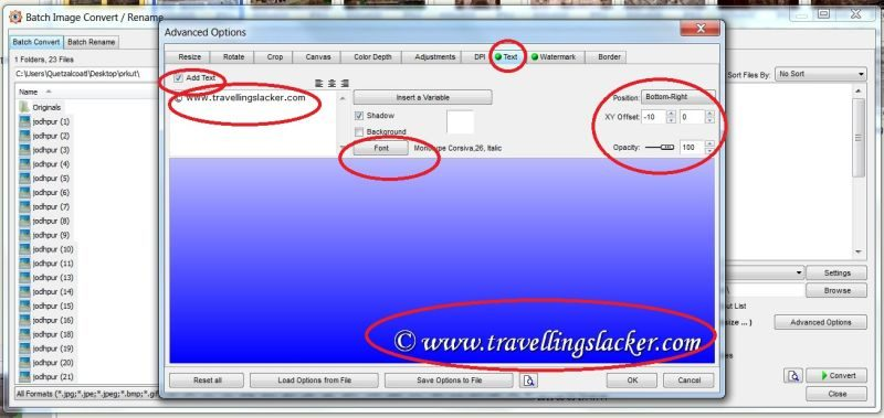 Free Batch Image Watermark for Copyright | The Travelling