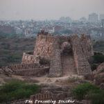 Tughlaqabad:  A Walk Around the Necropolis