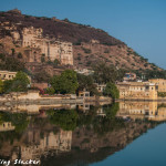 Streets of Bundi: Azure Reverie