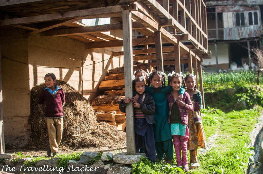 Tirthan Village Scene