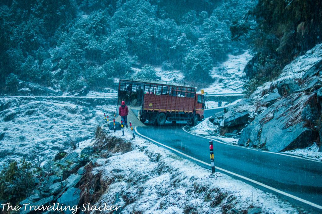 Chopta Snowfall