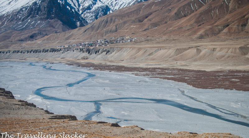 Spiti River, Kaza