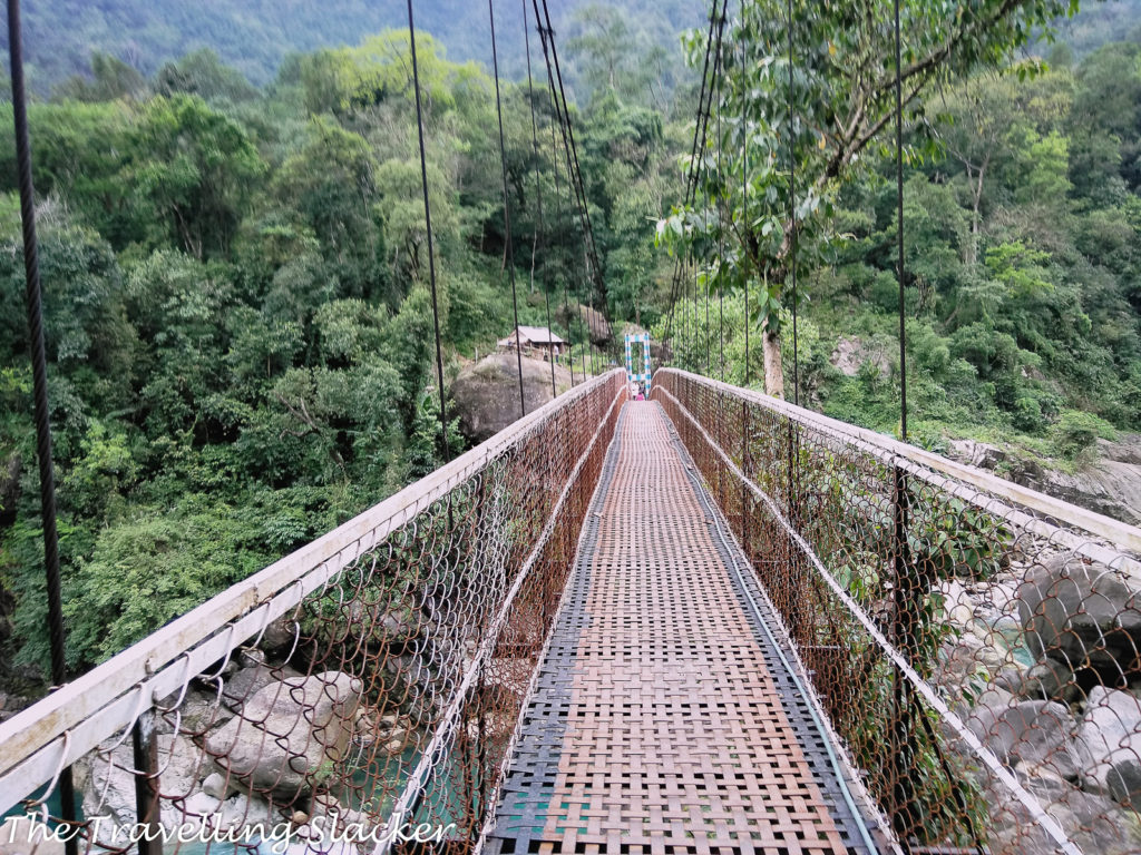 Second Suspension Bridge.
