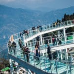 Pelling Skywalk to Chenrezig Statue near Sanga Choeling