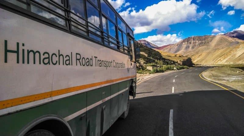 Leh Bus Service from Delhi, Manali and Keylong 2019