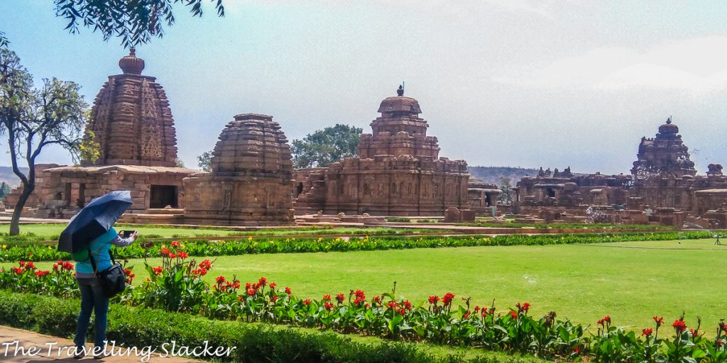 Pattadakal is a well-maintained complex