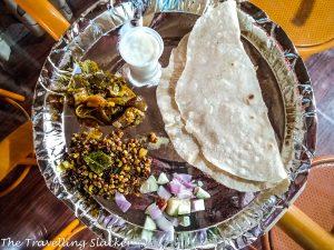 Jowar (Sorghum) Roti at Pattadakal