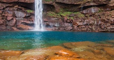 Phe Phe Falls: Poetry In Two Steps