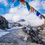 Sela Pass: Of Floating Peaks & Frozen Lakes