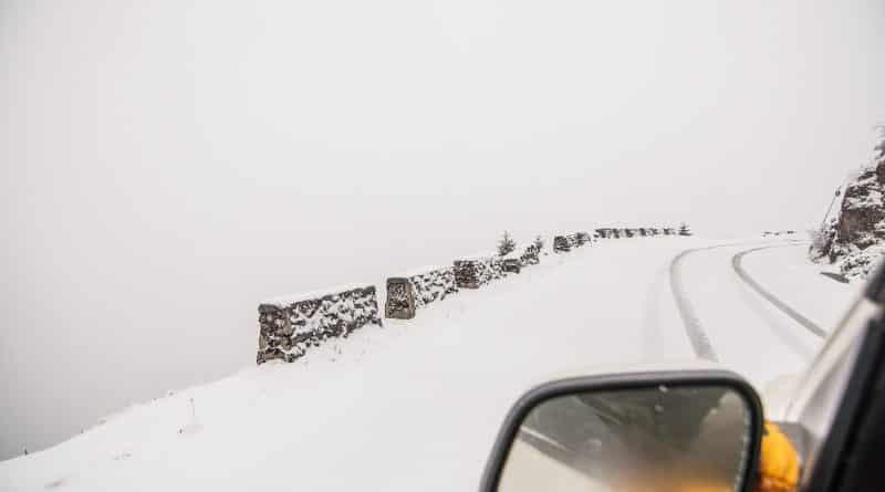 Sela Pass in Winter