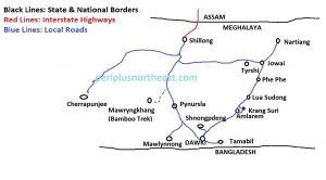 Shnongpdeng Map