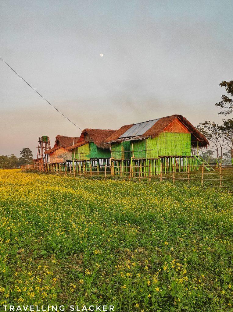 Majuli Island Classic Bamboo Hut Stays
