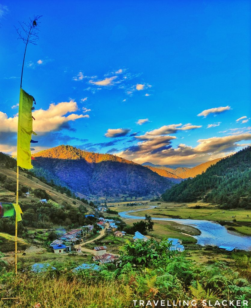 Expansive view of Sangti Valley