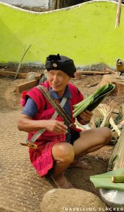 The Shaman/Priest in charge of Tamladu rituals