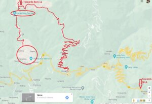 Geshela Route Map